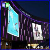 Visualizzazione esterna illuminata di pubblicità di manifesto di film del segno LED