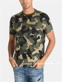 Gz 공장 남자를 위한 주문 우연한 인쇄된 Camo t-셔츠