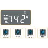 12V/24V*12A Аккумуляторная батарея оснащена зарядным устройством El Prat-12000