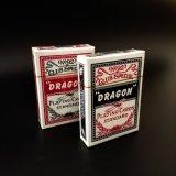 Drache-Verein-spezielles Kasino, das Spiel-Karten (deutsches, spielt schwarzes Hülsenpapier)