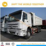 Sinotruk 6X4 50ton Camión Volquete camión de la mina de 25m3