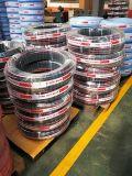 Boyau en caoutchouc hydraulique flexible d'En853 2sn Presuure