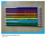 7 '' Top's Quality Stripped Hb Pencil pour étudiants et artistes