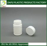 bottiglia di plastica di Plii di colore bianco del PE 50ml