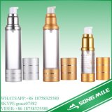 Lotionのための50ml Hot Sale Transparent Airless Bottle