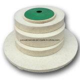 Войлочный диск диск с помощью заслонки для полировки шерсти считает Diam