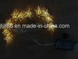 Lumières décoratives de jardin de Noël solaire extérieur