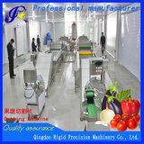Equipamento de processamento de vegetais de frutos comerciais cenouras congelados máquina de corte