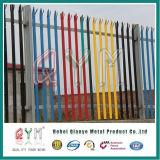 Stahlpalisade-Sicherheits-Fechtenstahlmetallzaun für Euroart