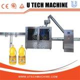 Fácil operación de llenado de aceite de oliva y la Máquina Tapadora
