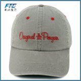 Шлем гольфа логоса вышивки бейсбольной кепки 6 панелей