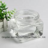50ml-500ml série quadrada garrafa de vidro para o mel e geleia