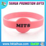 Bracelet fait sur commande professionnel de vente chaud de silicium, bracelet de talon de silicones de Chine