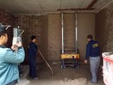 Машина /Rendering машины /Plastering машины стены для стены