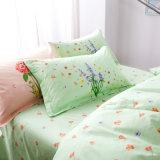 Último en diseño textil hogar de algodón estilo simple juego de ropa de cama