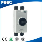 3p Enclosed Rotary drill 500VDC Photovoltaic Isolator Switch