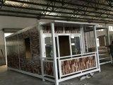 가장 새로운 폴딩 유명 관광지를 위한 이동할 수 있는 Prefabricated 또는 조립식 집 또는 별장