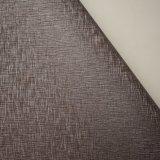 Seide wie geprägtes synthetisches Leder für Wand-Dekoration-Ausgangsverzierung