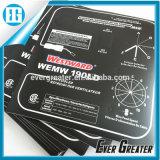 Etiqueta engomada/interruptor gráfico del tacto del teclado de membrana del telclado numérico del interruptor de membrana del teclado de membrana del clave del recubrimiento