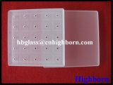 Cialda di vetro di quarzo del silicone fuso di Jgs di alta qualità