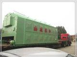 Forno Grande cheio de carvão vapor, água quente e Industrial de madeira da caldeira de vapor