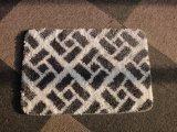山のジャカードスリップ防止バス・マットの床の敷物