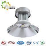 Lumière élevée légère de compartiment de la haute performance IP65 DEL Highbay DEL, lumière élevée de compartiment de la vente en gros 120W DEL de fournisseur de la Chine