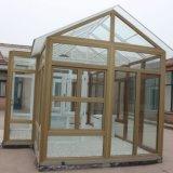Perfil de la ventana de UPVC con perfil plástico de la ventana de diversas secciones