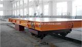 Het op zwaar werk berekende elektrische vlakke voertuig van de spooroverdracht voor verkoop