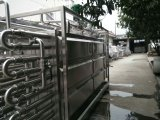 Питание санитарных нержавеющая сталь 3000 л/ч трубки молоко унт пастеризации машины