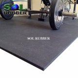 Ce сертифицирована герметик качество спортзал резиновый коврик