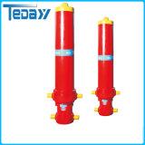 Cilindro hidráulico de elevação de boa qualidade com pressão de 22 MPa