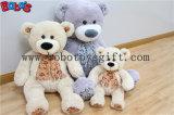 중국 생산적인 도매가를 가진 견면 벨벳에 의하여 채워지는 장난감 회색 장난감 곰
