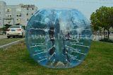 De Halve Bal van het Voetbal TPU van de Bel van Kleur 016 Goedkope, de Opblaasbare Bal van de Bel van het Voetbal van de Bumper Menselijke Met maat