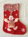 Sokken van Kerstmis van de Decoratie van de Verkoop van Kerstmis de Huidige Hete Promotie