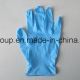 Одноразовые порошок свободного нитриловые перчатки текстурированные кончиками пальцев для медицинской проверки