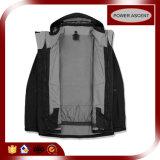 OEM Stretch-Fabric Ветровку водонепроницаемый спортивных мероприятий на улице куртка 3 в 1