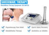 Máquina do relevo de dor da inquietação da terapia da onda do equipamento da fisioterapia da onda de choque