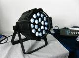 18 LED HP 10W RGBW Zoom de 4 em 1 PAR DE LED Light iluminação de palco