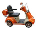 フットブレーキが付いている四輪電気バイク