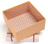 Cajas de embalaje jerarquizadas de sellado calientes del bolso de cuero