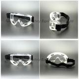 Lunettes de sûreté de lentille de PC de bâti de Brown (SG142)