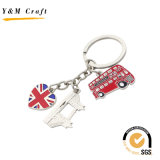 Heißer Verkaufs-Zoll personifizierter Schlüsselring-Anhänger Ym1026
