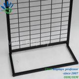 Los paneles de malla de alambre, malla de alambre estantes mostrar