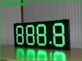 Panneau d'affichage LED étanche de plein air /signe du prix du gaz d'affichage à LED