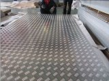 Anti-Slipping Aluminum Tread Plate 5 Bar per Stairs