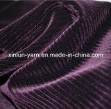 100% poliéster Pulverização flocagem de tecido de malha para projetos de conjuntos de sofá