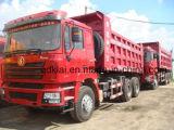 De Vrachtwagens van de Kipper van de Vrachtwagen van de Stortplaats van Shacman 6X4