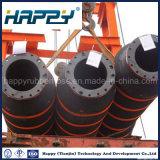 Descarga flotante del petróleo que draga el manguito de goma hidráulico industrial
