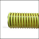 Boyau flexible de conduit de PVC de boyau ondulé de boyau d'aspiration d'helice de PVC